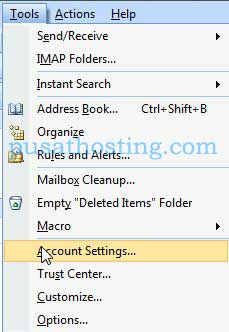 imap-outlook-2007-menu-account