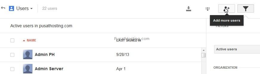 tambah alamat email user google apps