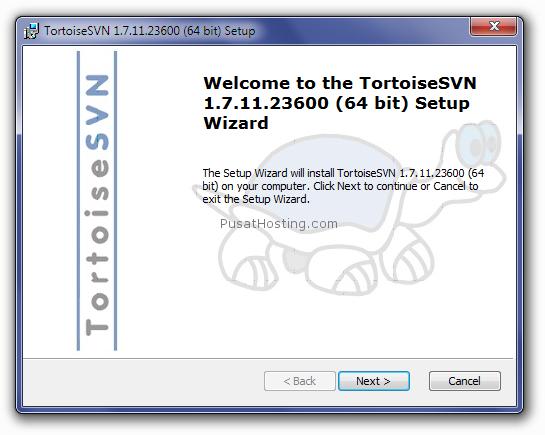 installasi turtoise-svn2