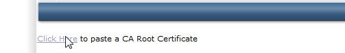Paste CA-Root certificate directadmin pusathosting